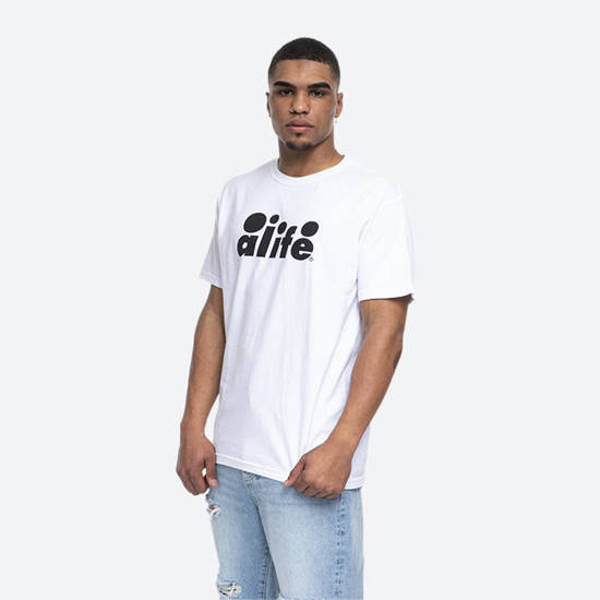 Alife Bubble Logo Tee ALISS20-69 WHITE/BLACK