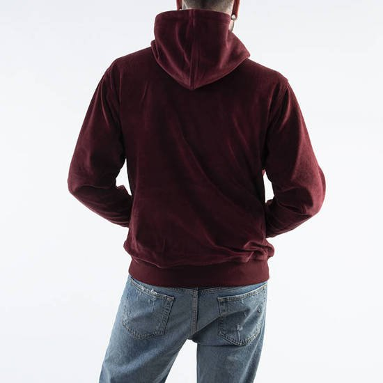 Carhartt WIP Hooded United Script I028276 BORDEAUX