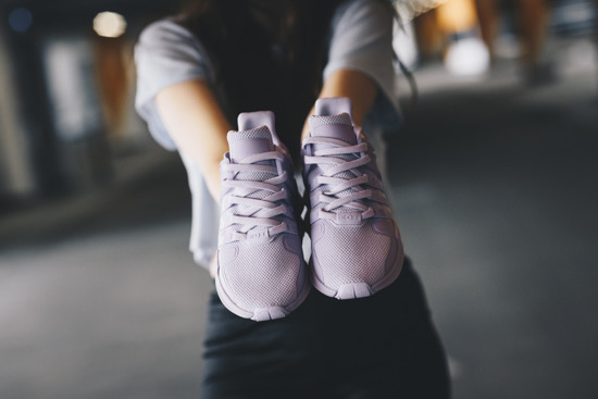 "Women's shoes adidas Originals Equipment Support Adv ""Purple"" BY9109"