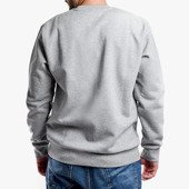 Carhartt Script Embroidery I027678 GREY HEATHER/BLACK